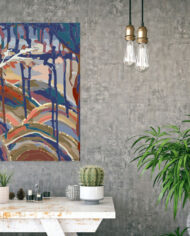 cissy-and-flo-design-dreamtime-hall-stand-concrete-wall