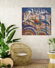 cissy-and-flo-design-dreamtime–tropical-room-cane-seat-blank-cream-textured-wall
