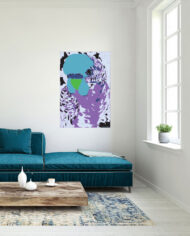 cissy-and-flo-design-fluff-the-budgie-portrait-green-couch