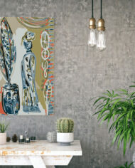 cissy-and-flo-design-high-priestess-hall-stand-concrete-wall