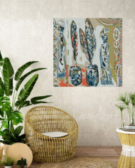 cissy-and-flo-design-high-priestess-tropical-room-cane-seat-blank-cream-textured-wall