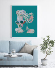 cissy-and-flo-design-maddy-aqua-light-blue-couch-white-portrait-frame-on-white-wall