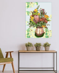 cissy-and-flo-design-still-life-2-green-olive-chair-with-hall-stand