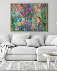 cissy-and-flo-design-vasette-scandi-room-couch-oak-landscape-frame