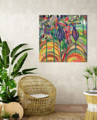 cissy-and-flo-design-wind-in-willows-tropical-room-cane-seat-blank-cream-textured-wall